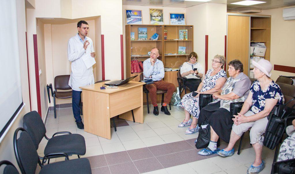 В МКДЦ состоялась первая школа для пациентов-участников антикоагулянтной программы