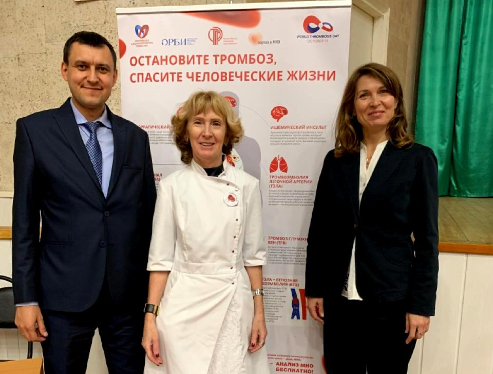 Эксперты «Портавита Хелс» представили опыт антитромботической терапии Татарстана на конференции в Архангельске